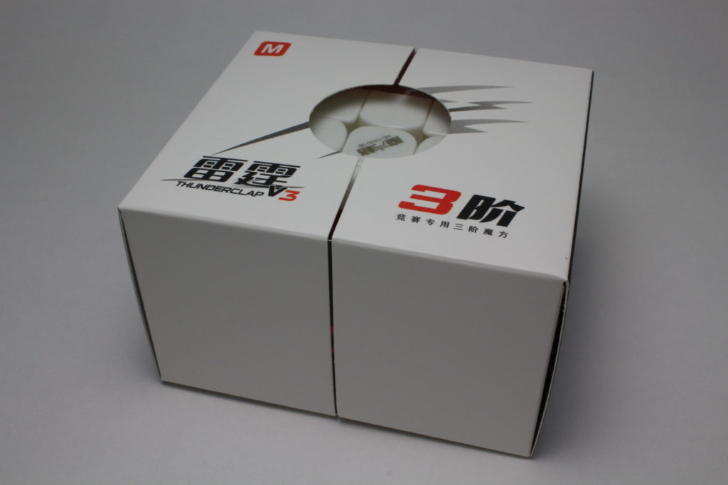 QiYi Thunderclap 3x3x3 V3 M Stickerless  の商品紹介①