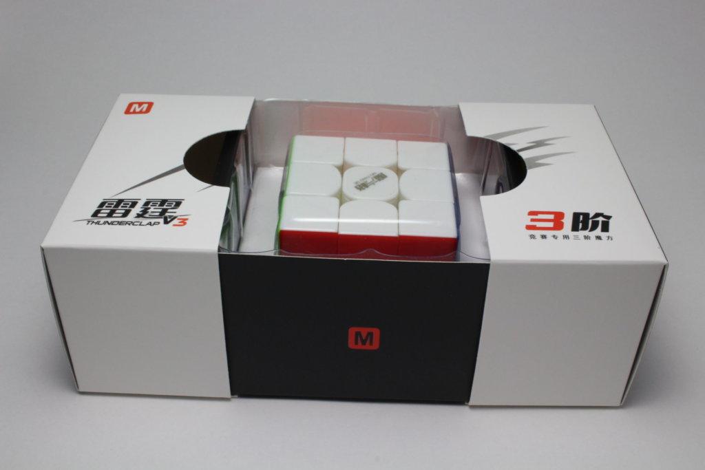 QiYi Thunderclap 3x3x3 V3 M Stickerless  の商品紹介②
