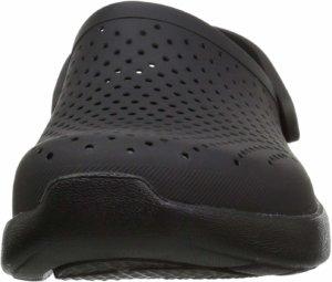 サンダル ライトライド クロッグ 204592 - ブラック/スレートグレーの写真③