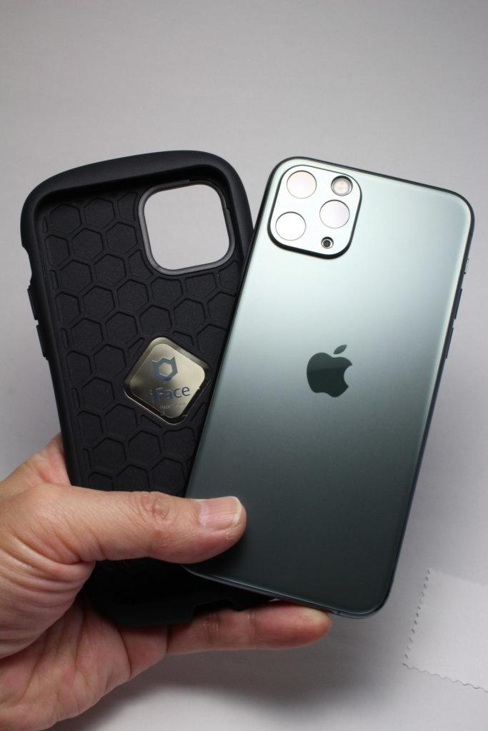NIMASO カメラカバーiFace First Class Sense for iPhone 11 との組み合わせその①