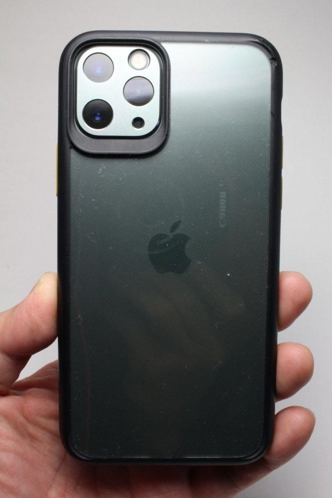 NIMASO カメラカバーNIMASO iPhone 11 Pro・11 Pro Max・iPhone 11 クリアバンパーケース との組みわせその②